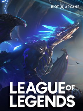 League of Legends-forsidebillede