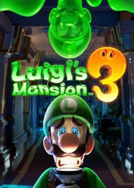 Box art hry Luigi's Mansion 3