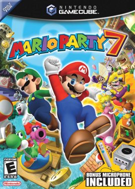 Mario Party 7 Game Cover