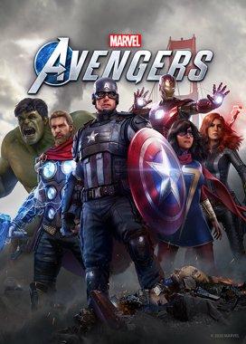 Marvel's Avengers Game Cover