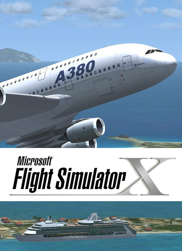 Microsoft Flight Simulator X - Twitch