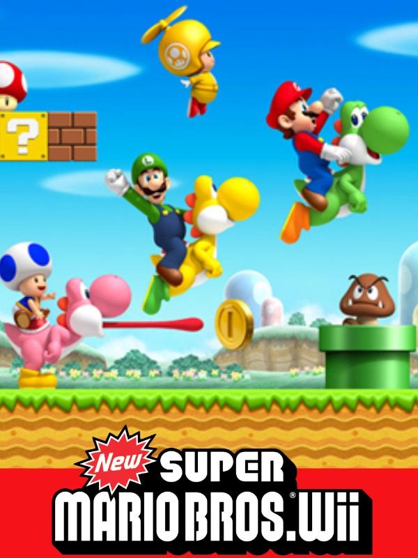 New Super Mario Bros Wii Twitch