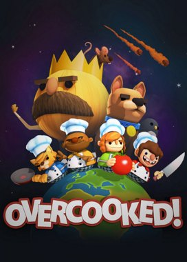 Overcooked! Game Cover