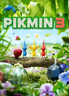 Pikmin 3 Game Cover