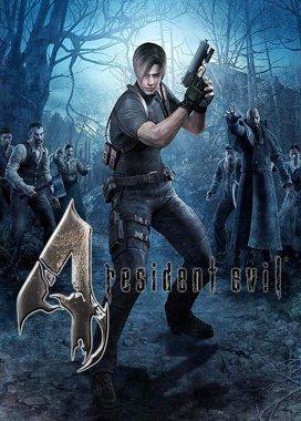 Resident Evil 4 Game Cover