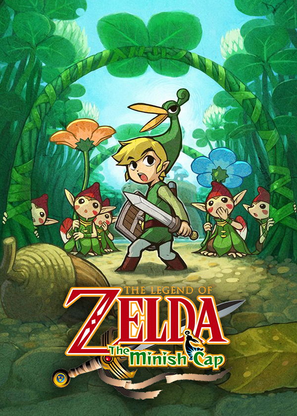 the legend of zelda the minish cap twitch