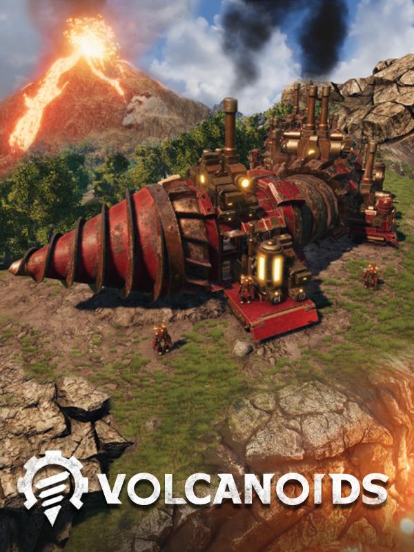 Game: volcanoids